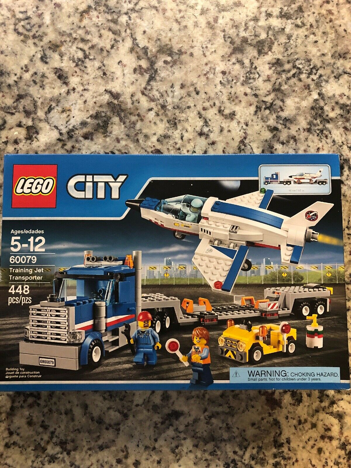 New Retired LEGO City Training Jet Transporter Transporter Transporter Set 60079 05287d