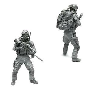 1-35-Modern-American-Army-Special-Forces-A-Resin-Soldier-Model-Xmas-Gift