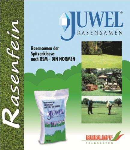 /& Spielrasen 10kg Rasen Rasensamen Rasensaat günstig Gebrauchs JUWEL RSM 2.3