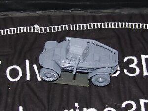 Flames Of War Hungarian Csaba Armored Car 1/100 15mm FREE SHIPPING
