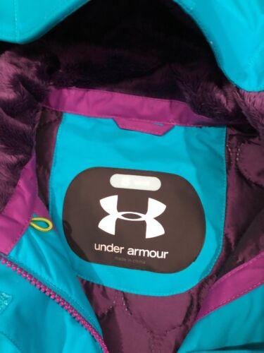Armour Blå Under Og Coat Størrelse Kvinders Lilla Lille Quiltet Foring Jacket HURw4x