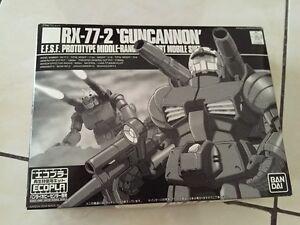 Bandai-Gundam-1-144-RX-77-2-Guncannon-Ecopla-special-edition-black-MIB-Ref-64
