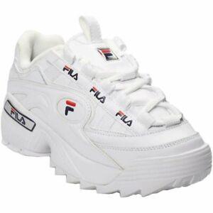 Detalles de Zapatillas Fila D-Formation Blanco Hombre