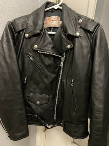 excelled leather motorcycle jacket women 10 medium