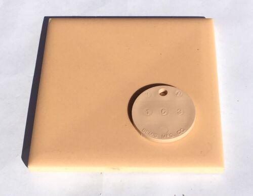 1Sq Ft Peach 4x4 Vintage Ceramic Tile /'Mosaic/' Surplus
