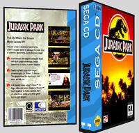Jurassic Park - Sega Cd Reproduction Art Dvd Case No Game