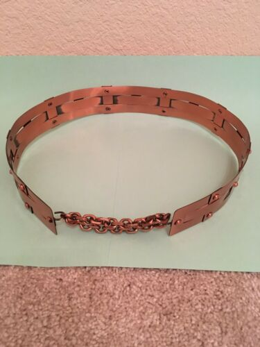 Vintage Renior Copper Belt 1950s