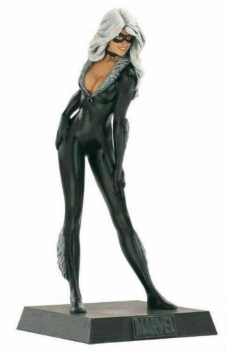 Supereroi Marvel Eaglemoss Black Cat Statuina Piombo