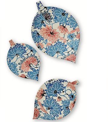 Handicraft Fushimi Inari Square Paper Tray Yuzen Dyeing Paper Suzuki Shofudo