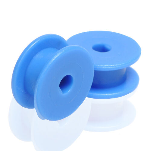 5pcs Small Blue Belt Fixed Pulley 3mm D Hole for Toy Robotic Module Car