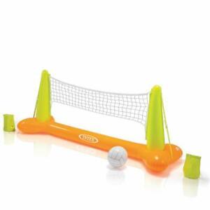 Intex-56508-Gioco-Piscina-Volley-Galleggiante-239x64x91-Cm-Colore-Giallo-e-Verde