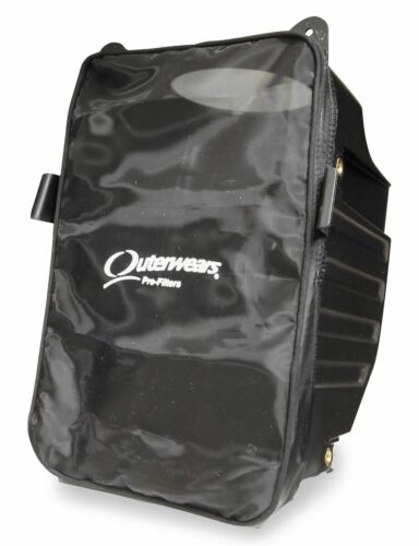 Outerwears 20-1308-01 Airbox Cover Black~