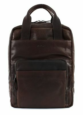 Strellson Coleman 2.0 Backpack Lvz Zaino Borsa Per Laptop Borsa Dark Brown Marrone-mostra Il Titolo Originale Acquista Sempre Bene