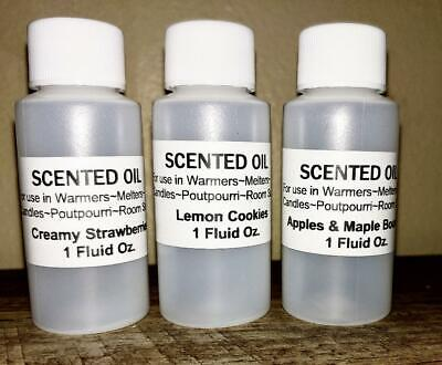 Scented Candle Wax  Shot Melts Chunks Strong CHOOSE SCENTS Huge Selection LG 2oz