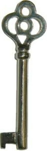 NICKEL PLATED  KEY FOR NEW AND OLD LOCKS  N1910