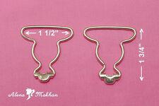 10 pc Metal Dungaree Fastener Overall Clip Suspender Buckle Strap Adjuster