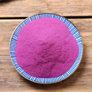 Purple Sweet Potato Powder Organic Natural  Help Lower Regulate Blood Pressure