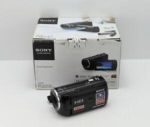 Sony-Handycam-projecteur-HDR-PJ220E-Camescope-Coffret-HD-Haute-Definition-carte-SDHC