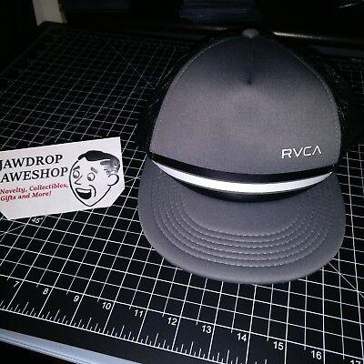 Nouveau RVCA Rounds Homme Snapback Black Cap Hat