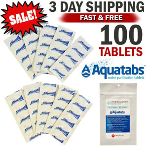 Water-Purification-Tablets-Aquatabs-Easy-Purify-and-Cleaning-Water-For-Drinking