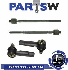 4Pc Front Outer & Inner Tie Rod Kit for Nissan Altima and Maxima 1 Year Warranty