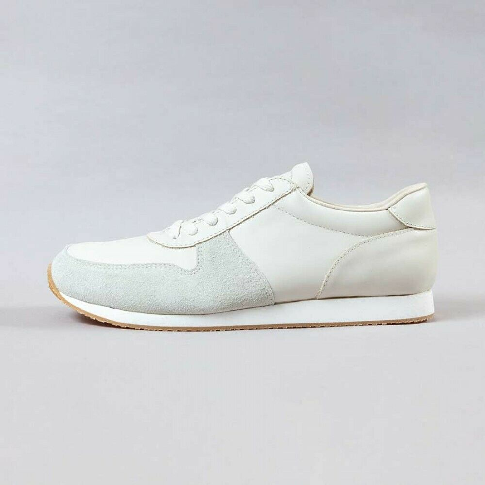 blueeover Leather Sneakers ARTAX white Made in Japan shoes