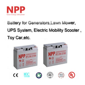 NPP 12V 18 Ah Rechargeable SLA Battery Replace UB12180 D5745 PS-1218 / (2pcs)