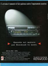 AUTO997-PUBBLICITA'/ADVERTISING-1997-KENWOOD HIFI CAR KRC 658R