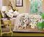 4 PCS Bedding Green Duvet Bedroom Comforter Cover Set Bird Queen King Size I391