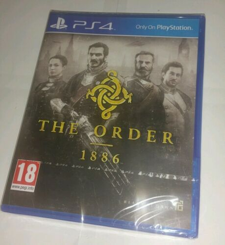 1 of 1 - The Order: 1886 for Sony PlayStation 4 PS4 BRAND NEW SEALED UK PAL