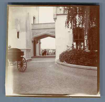 Norvège, Christiania (oslo), Château Oscarshall Vintage Citrate Print. Vintage