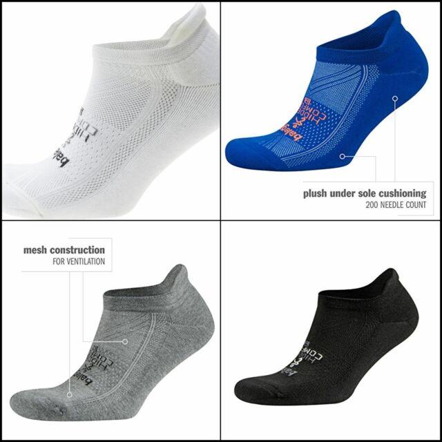 Balega Hidden Comfort Low Cut Running Socks White Cushioned Sole Run Sock