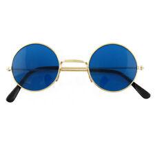 dd03eddc74c BLUE Ozzy Hippie Hippy 60s 70s Round Lennon Specs Fancy Dress Costume  Glasses