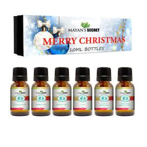 Mayan-039-s-Secret-Premium-Grade-Fragrance-Oil-Merry-Christmas-Gift-Set-6-10ml