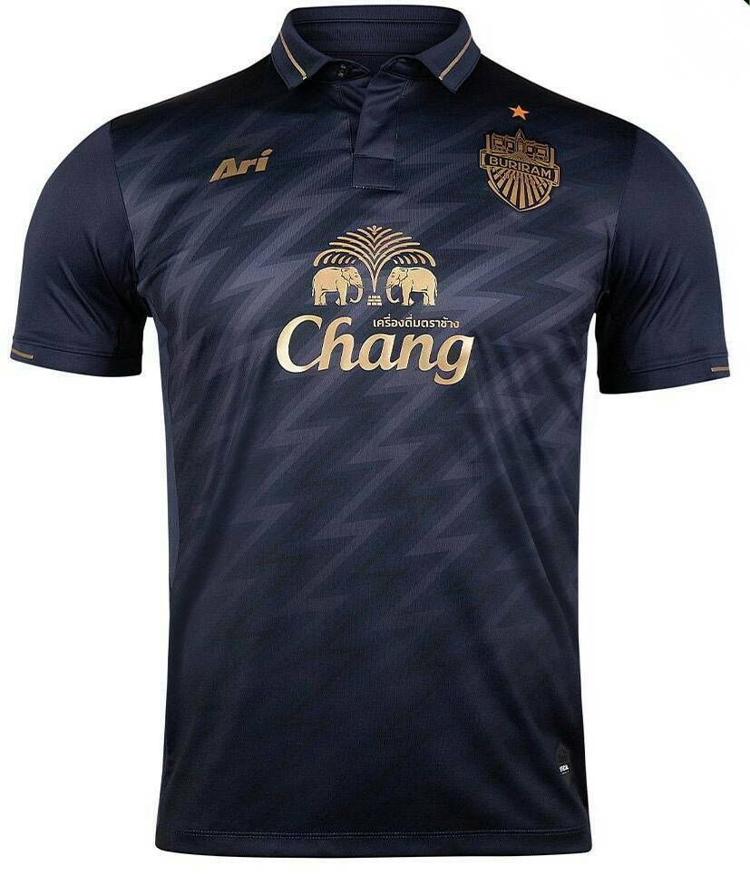 Authentic 2019 Buriram United Thailand AFC Champion League Jersey Shirt bluee