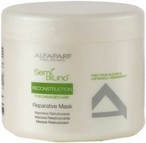 6 ALFAPARF SDL RECONSTRUCTION REPAIRING MASK 500ML/16.9OZ (FOR DAMAGE HAIR)