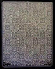 Sizzix Large 4.5x5.75in Embossing Folder PSYCHEDELIC DREAMS fits Cuttlebug