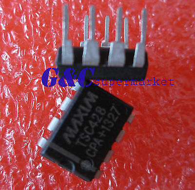 50pcs TSC428CPA TSC428 Dual Power MOSFET Driver IC New Good quality D50