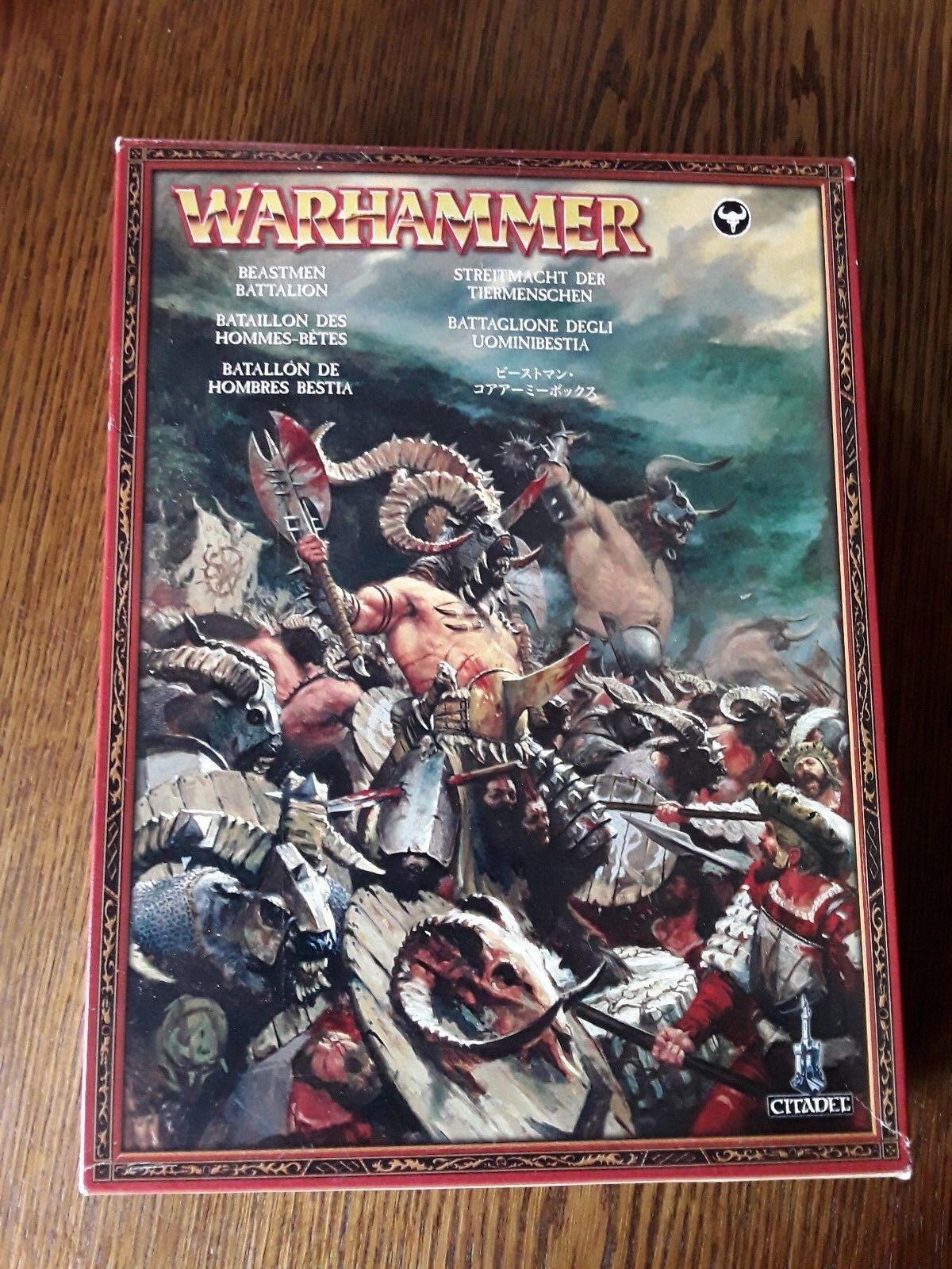 Warhammer Fantasy Age of Sigmar BEASTHommes Bataillon