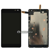 Microsoft Nokia Lumia 535 LCD Screen Touch Digitizer Assembly+Frame CT2C1607FPC