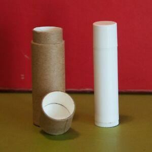 Details about 20 Kraft Lip Balm Tubes  3 oz 1/3 oz Eco Friendly Cardboard  Containers