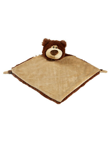 Cubbies  BEAR Personalised Baby Comforter snuggle Blanket New Baby birth Gift