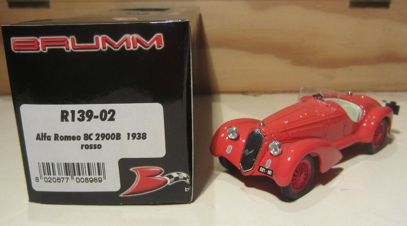 637. Brumm Brumm Brumm R139-01 02 03 04 Alfa Romeo 2900B MB Complete series 4 colours MB 916c82