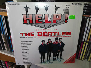 THE-BEATLES-HELP-LASERDISC-1995-MADE-JAPAN-SIGILLATO-SEALED