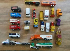 JOB-LOT-23-Lesney-Matchbox-Corgi-Majorette-Hot-Wheels-70s-80s-90s-diecast