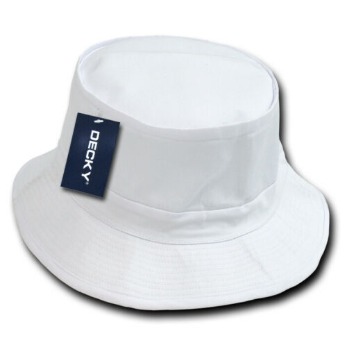 Decky Fisherman/'s Bucket Hats Caps Constructed Cotton 2 sizes Unisex