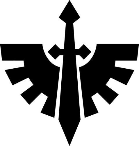 Warhammer 40k Dark Angels Chapter Badge Vinyl Car Window Laptop Decal Sticker