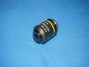 Nikon-E-Plan-10x-0-25-WD-12-5-Objective-Lens