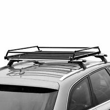 Basic Car Roof Tray Platform Rack Carry Box Luggage Carrier Basket