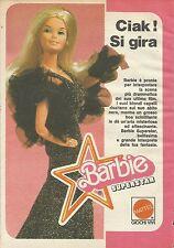 X9001 Barbie Superstar - Ciak si gira - Pubblicità 1977 - Advertising